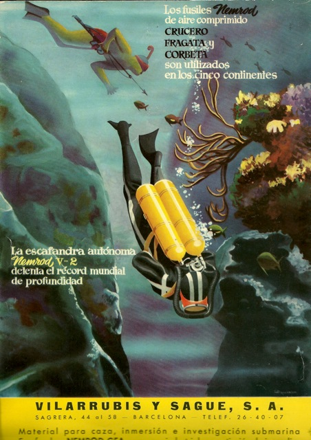 Vintage Diving - cover